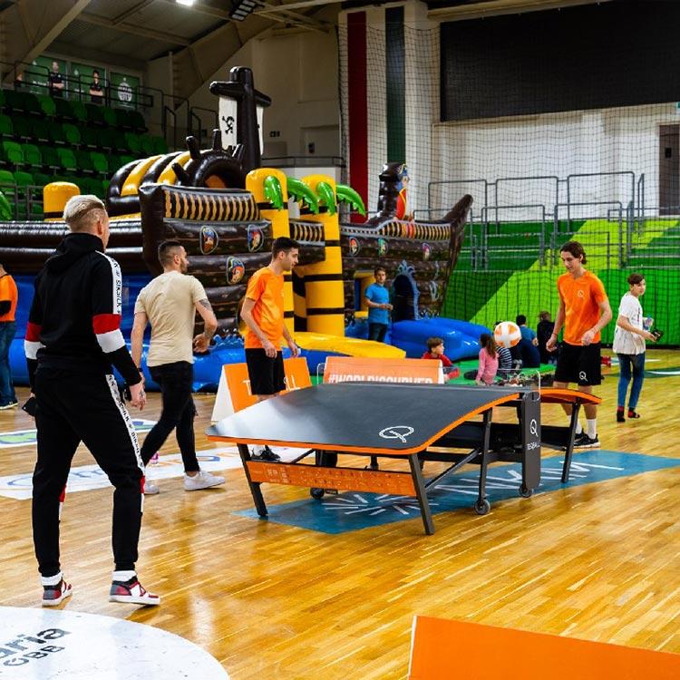 Teqball pályázat és Teqball sport nap – 2020. február